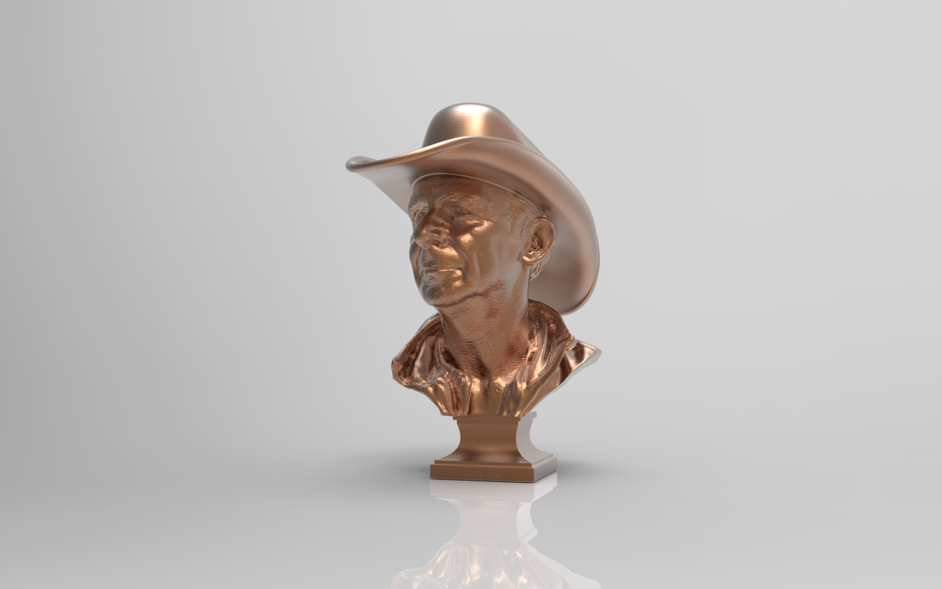 Statue Cowboy - Lysippe®